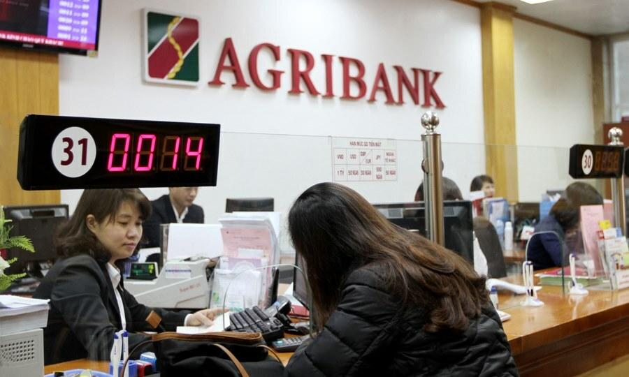 Bên trong một phòng giao dịch của Agribank. Ảnh: Agribank.