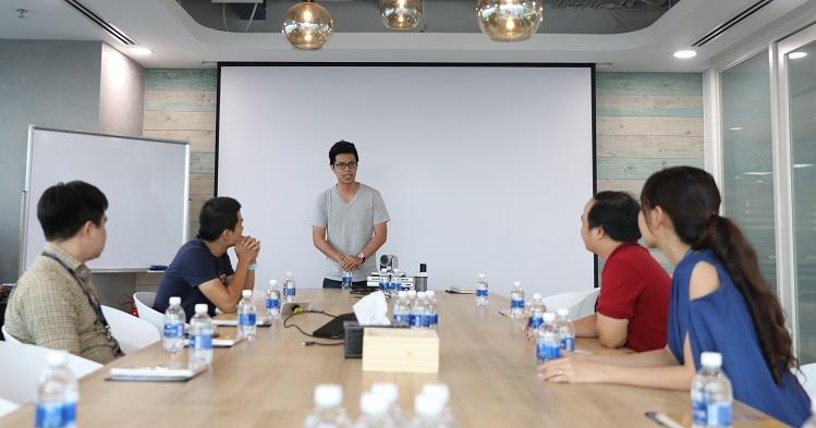 Top 4 Startup Việt có buổi chia sẻ cùng ông Ngô Hoàng Gia Khánh - Phó tổng giám đốc Phát triển Doanh nghiệp của Tiki.