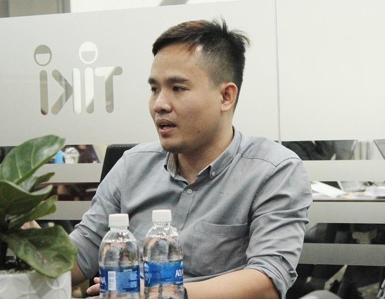 Ông Nguyễn Hoàng Việt - Tổng Giám đốc Công nghệ (CTO) của Ticketbox. Ảnh: Hà Thanh.
