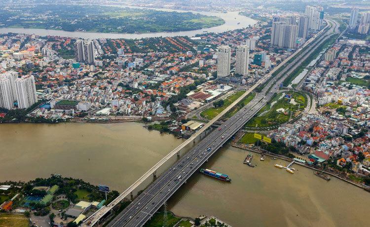 Thị trường bất động sản TP HCM. Ảnh: Trần Quỳnh