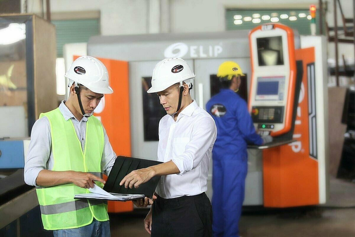 Hai phần basố tiền đầu tư sẽ được Elipsporttập trung cải thiện máy móc, sản xuất sản phẩm chất lượng.