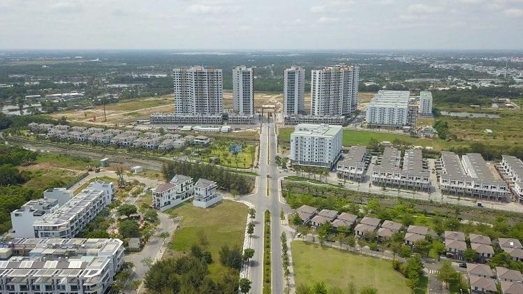 Một góc khu đô thị quy mô 26ha do Công ty Nam Long triển khai tại TP HCM. Ảnh: Namlonggroup