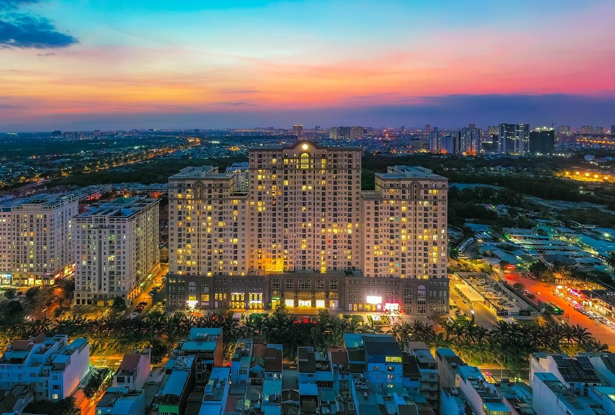 Khu căn hộ Saigon Mia tại khu Trung Sơn, TP HCM.