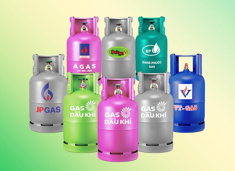Các sản phẩm bình LPG của Gas South.