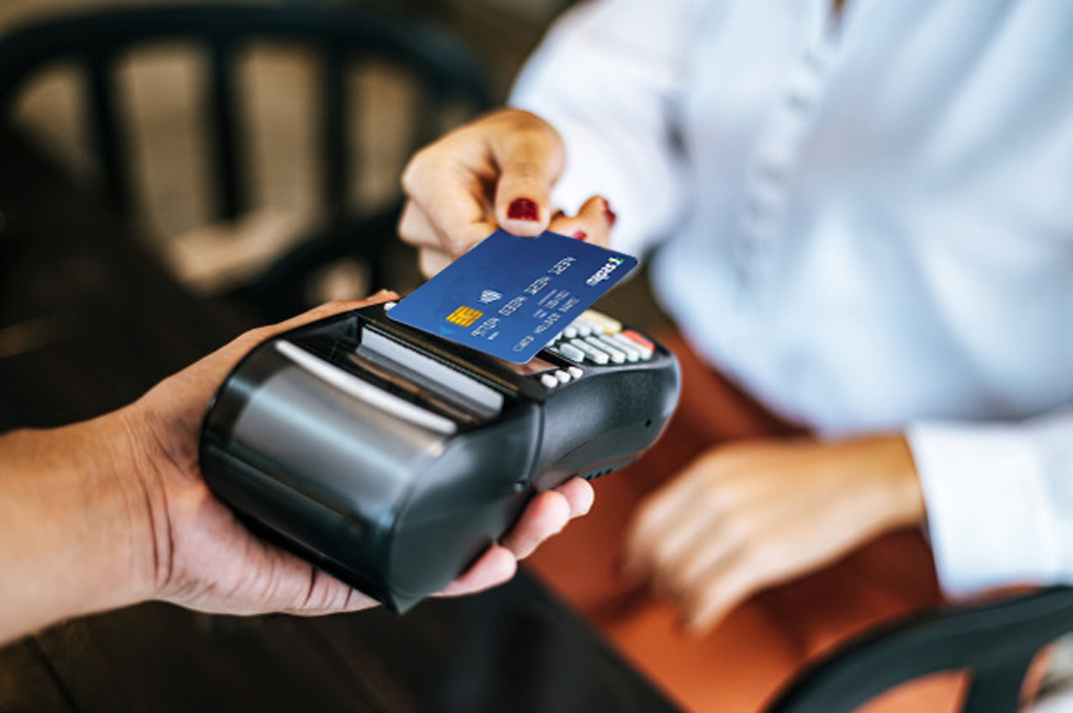 Thẻ chip contactless.