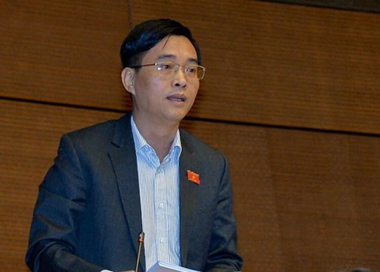 Ông Hoàng Quang Hàm - uỷ viên Uỷ ban Tài chính ngân sách. Ảnh: Trung tâm báo chí Quốc hội