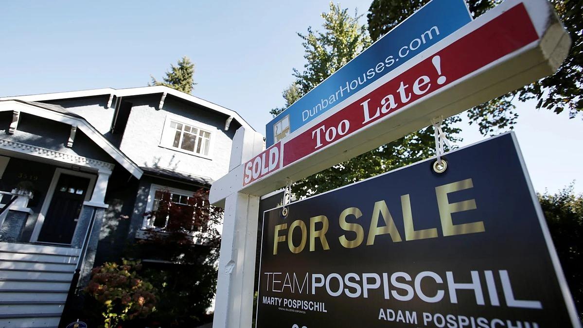 Một bất động sản tạiVancouver, British Columbia, Canada rao bán thu hút sự quan tâm của nhà đầu tư nước ngoài, bao gồm người Trung Quốc. Ảnh: Reuters