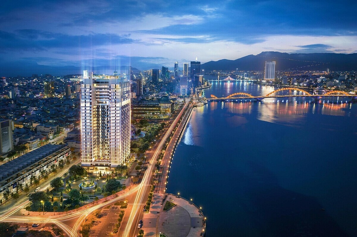 Phối cảnh dự án The Royal Đà Nẵng bên sông Hàn. Thông tin chi tiết về dự án tại đây. Fanpage. Hotline:0931151818.