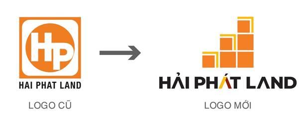 Nhận diện thương hiệu mới của Hải Phát Land.