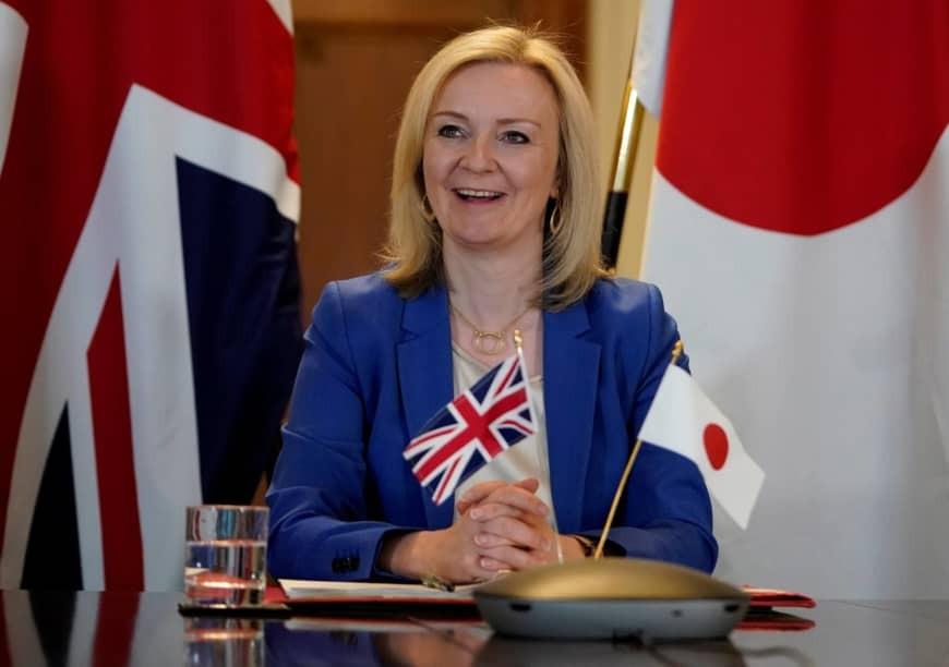 Bộ trưởng Thương mại Anh Liz Truss. Ảnh: AFP