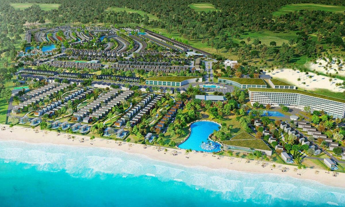 Phối cảnh một dự án khủng quy mô 1.000 ha của doanh nghiệp TP HCM tại Hồ Tràm.