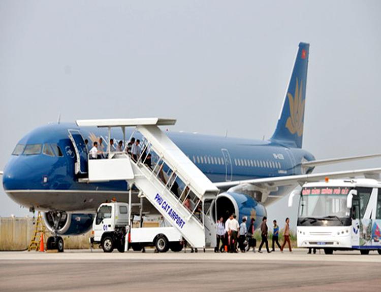 Sân bay Phù Cát đáp ứng nhu cầu kết nối giữa Quy Nhơn, Bình Định với các tỉnh thành trên cả nước, hướng đến đón du khách quốc tế.