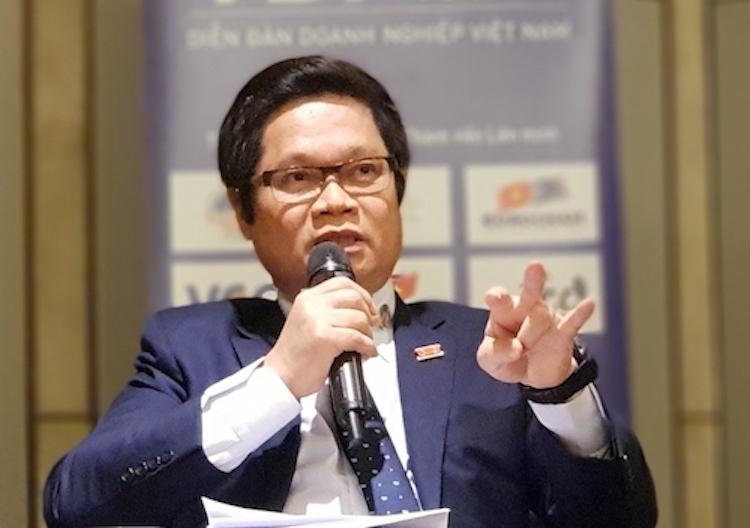 Chủ tịch VCCI ông Vũ Tiến Lộc. Ảnh: Minh Hà