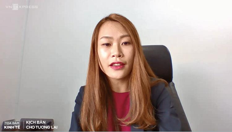Bà Phạm Nguyễn Ngọc Thương, Phó tổng giám đốc BCG Land.