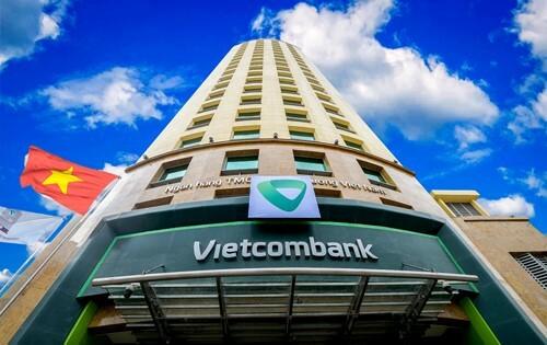 Trụ sở của Vietcombank.