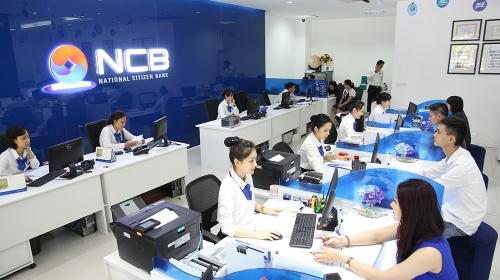 Một chi nhánh của ngân hàng NCB.
