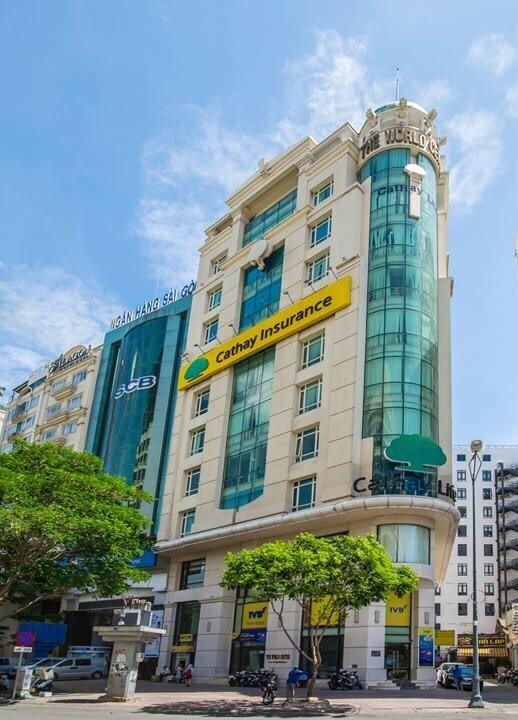 Công ty Cathay Việt Nam tại 46-48-50 Phạm Hồng Thái, phường Bến Thành, quận 1, TP HCM.