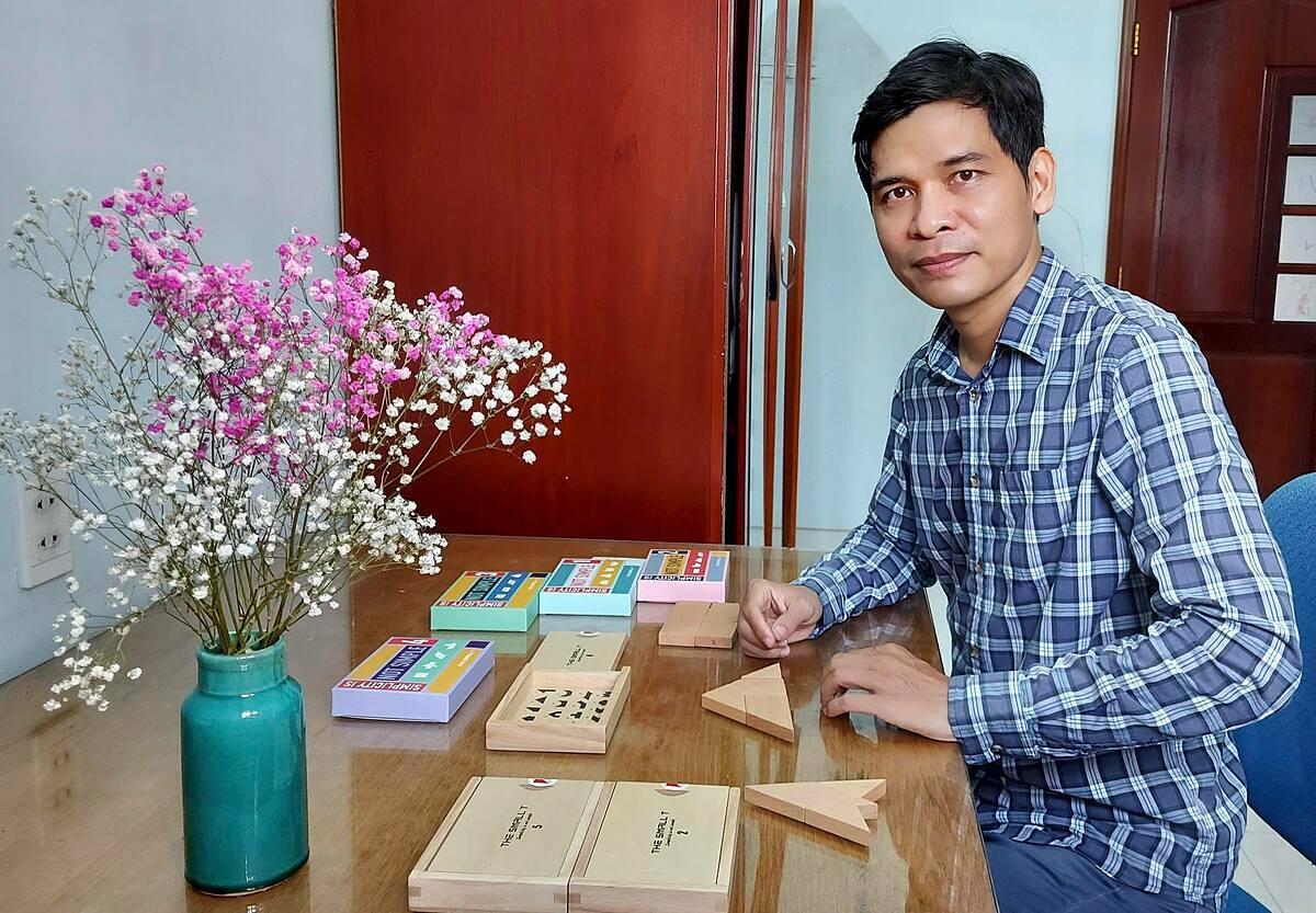 Nguyễn Trường Giang, Nhà sáng lập The Small T. Ảnh nhân vật cung cấp.