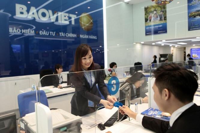 Hoạt động giao dịch tại Bảo Việt.