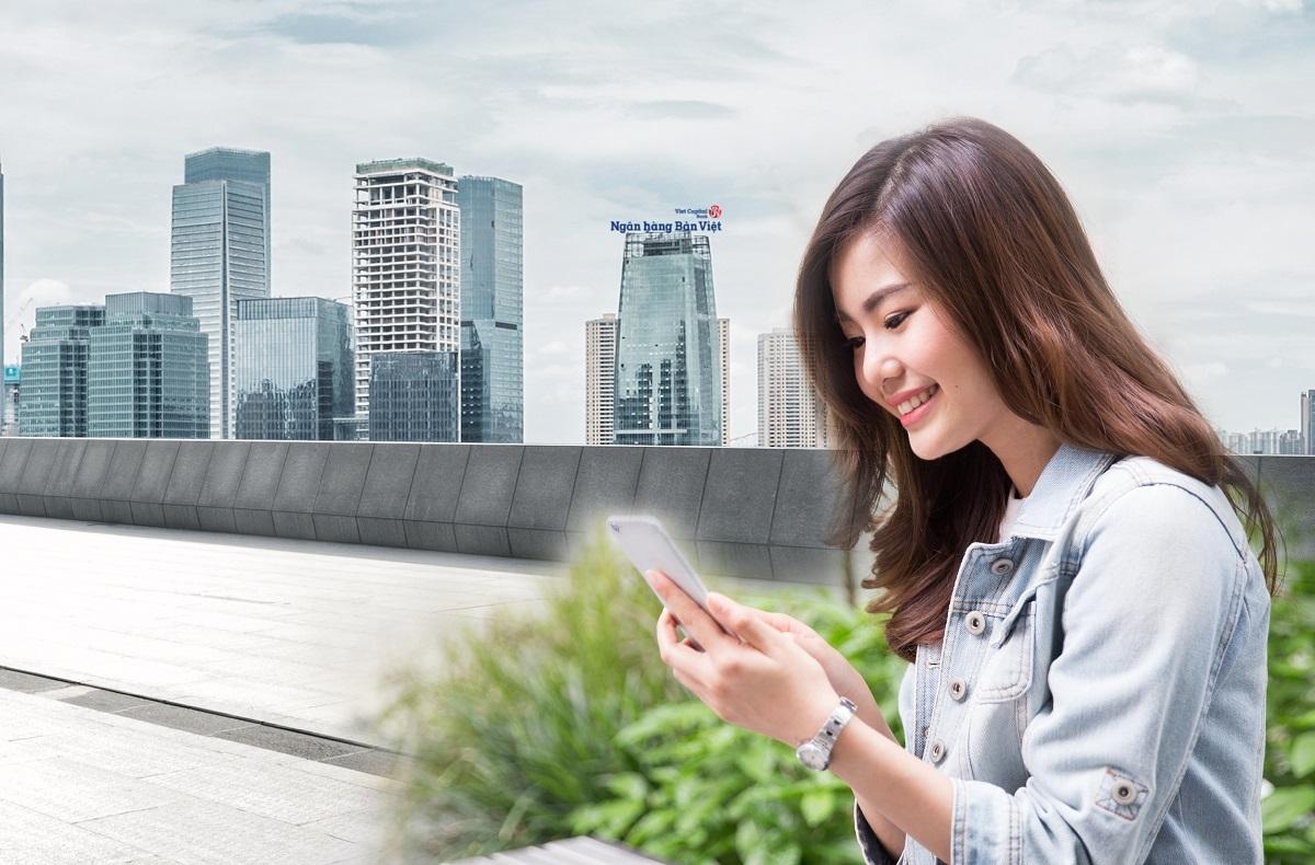 Ngân hàng Bản Việt vừa triển khai sản phẩm tiết kiệm tích lũy đồng hành dành cho khách hàng cá nhân. Thông tin chi tiết chương trình xem tại đây. Hotline: 1900555596.