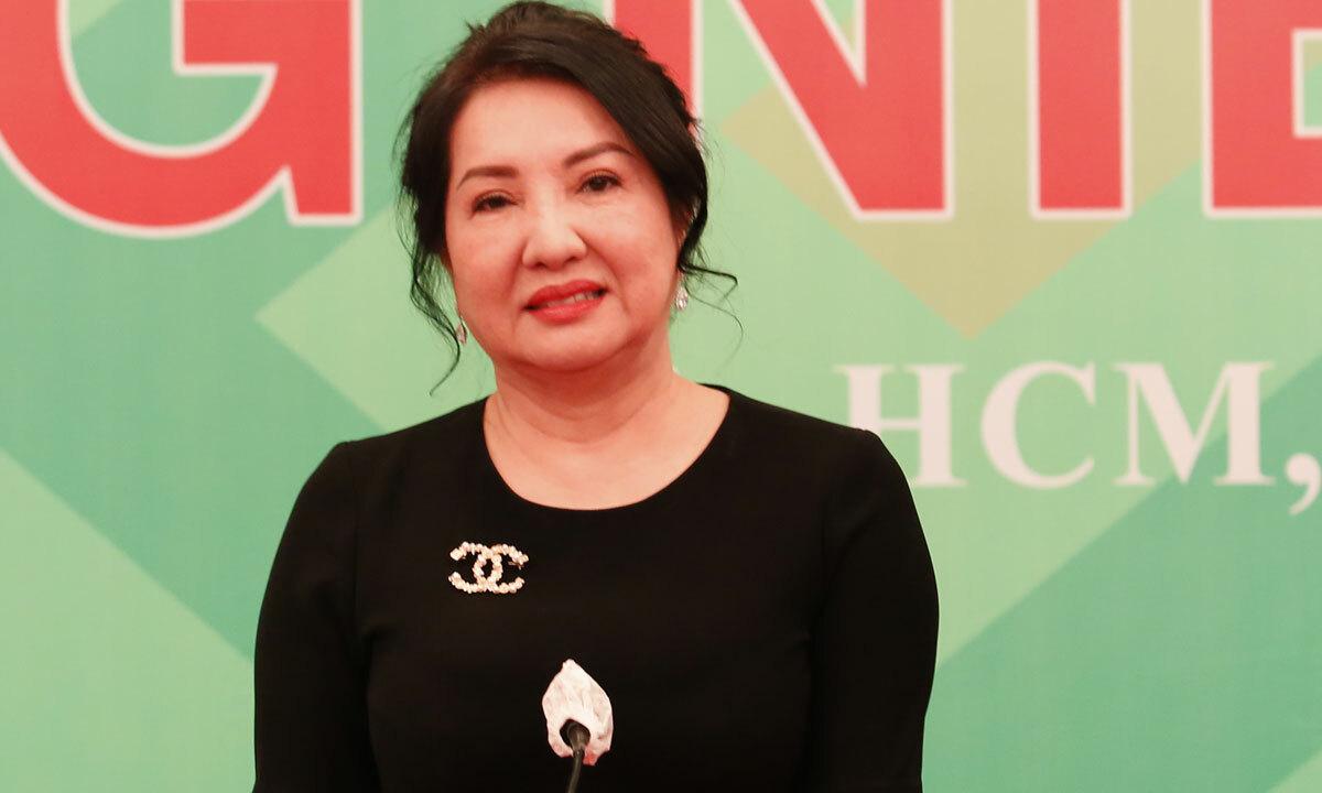 Bà Nguyễn Thị Như Loan, Chủ tịch Công ty Quốc Cường Gia Lai. Ảnh: V.L