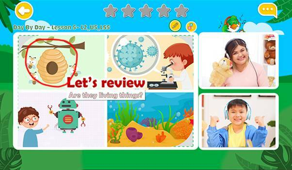 Phần mềm chuyên biệt cho phép học sinh tương tác với giáo viên ngay trong quá trình học.