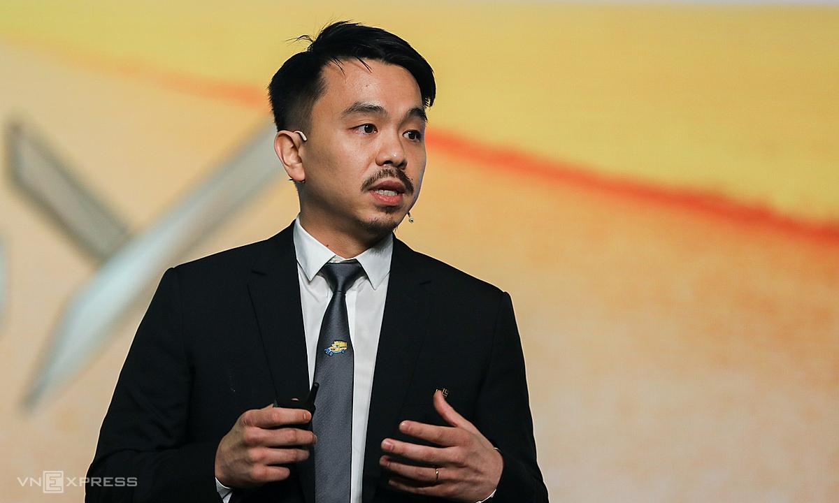 Ông Danny Le, CEO Masan chia sẻ tại phiên họp thường niên sáng 30/6. Ảnh: Quỳnh Trần.