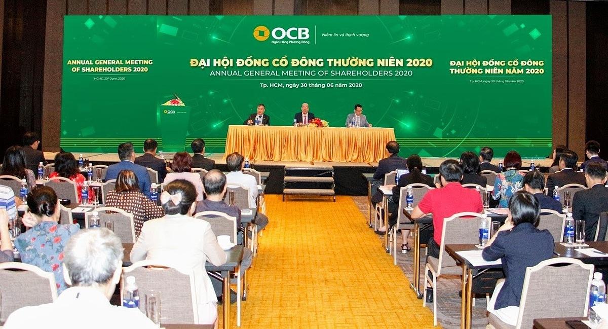 OCB tổ chức thành công đại hội cổ đông hôm 30/6.