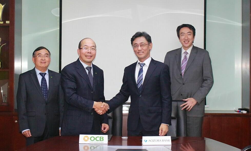 Đại diện OCB và Aozora Bank...