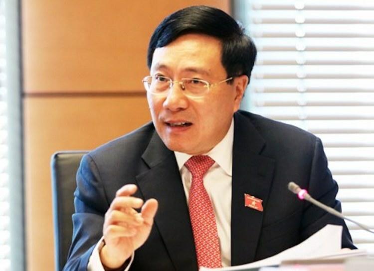 Phó thủ tướng Phạm Bình Minh. Ảnh: Võ Hải