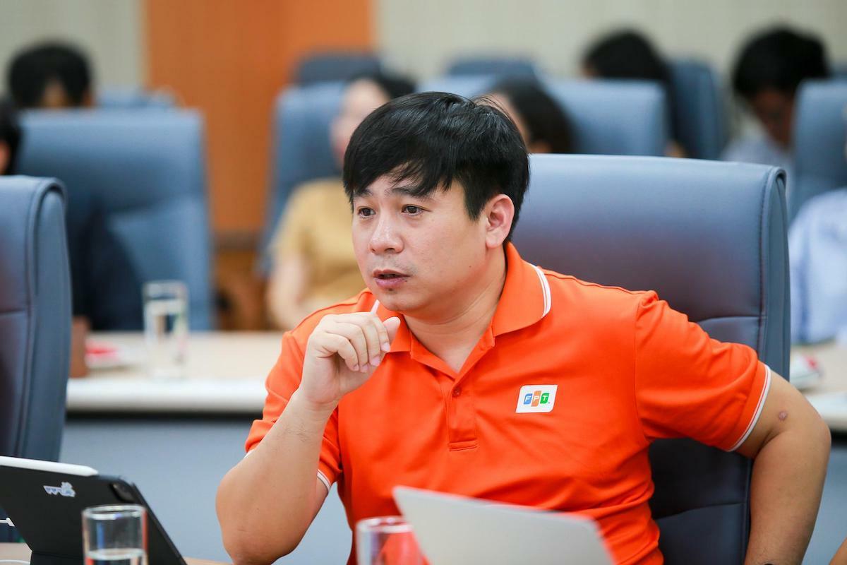 Ông Lê Hồng Việt- Giám đốc Công nghệ FPT. Ảnh: Cao Tuấn