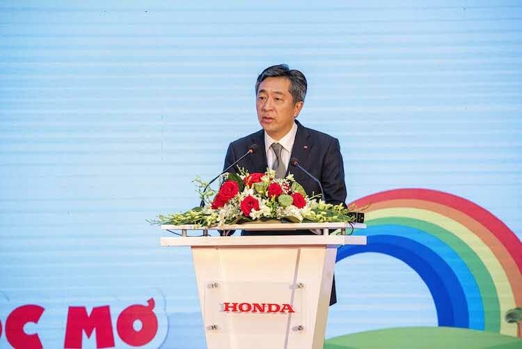 Ông Keisuke Tsuruzono, Tổng giám đốc Honda Việt Nam.