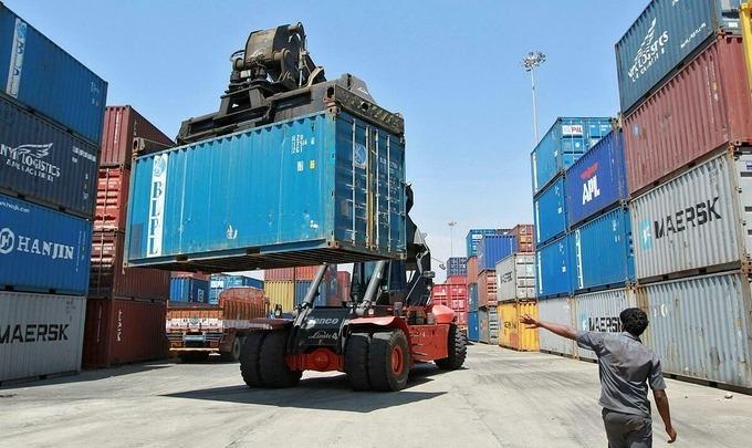 Container tại cảng Chennai (Ấn Độ). Ảnh:Reuters