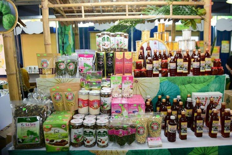 Sản phẩm nông sản Đồng Tháp.