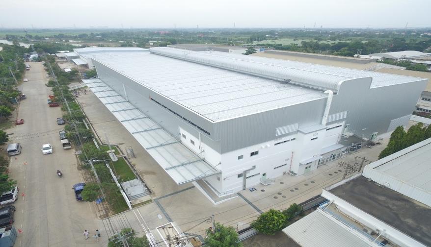 Nhà máy sản xuất và lắp ráp điều hoà Mitsubishi Heavy tại Thái Lan.
