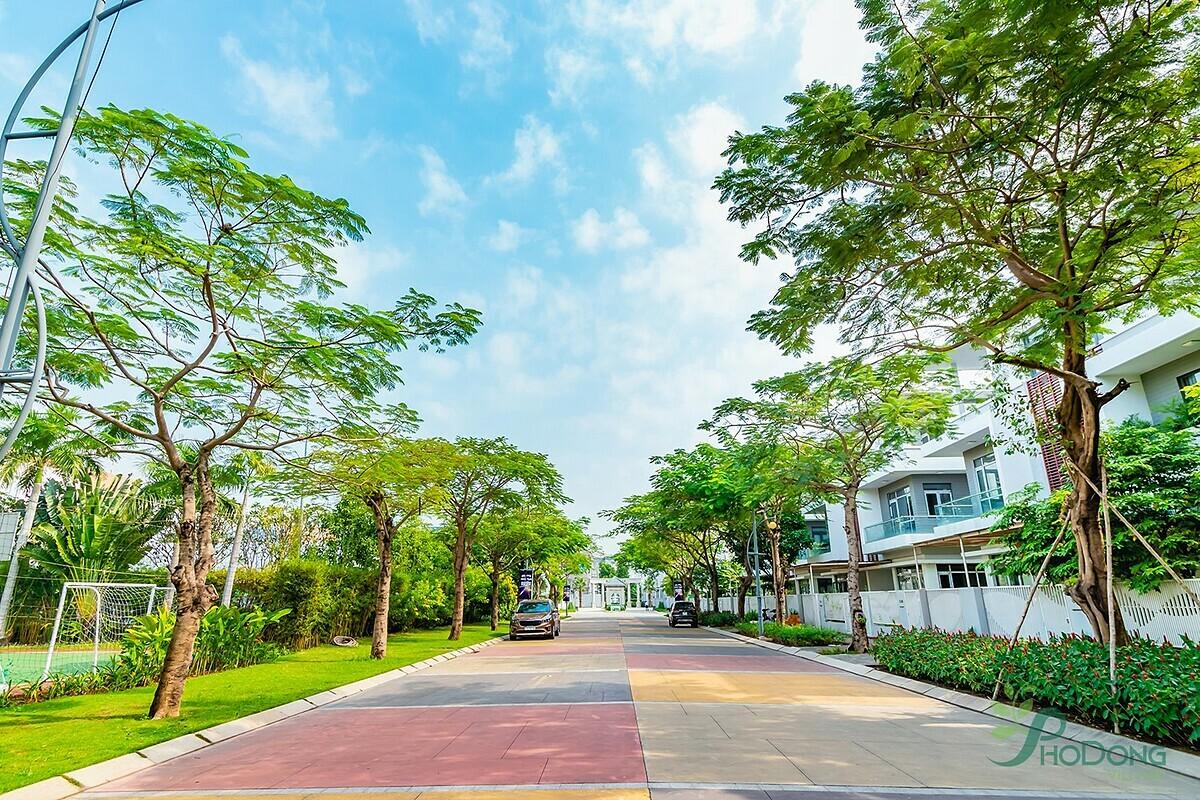 Không gian sống xanh đang trở thành lựa chọn của nhiều nhà đầu tư.
