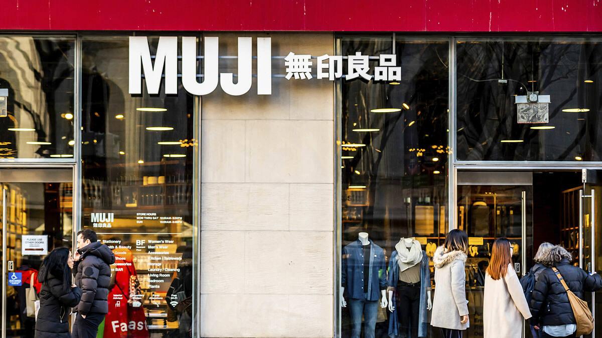 Một cửa hàng của MUJI ở New York. Ảnh: AP