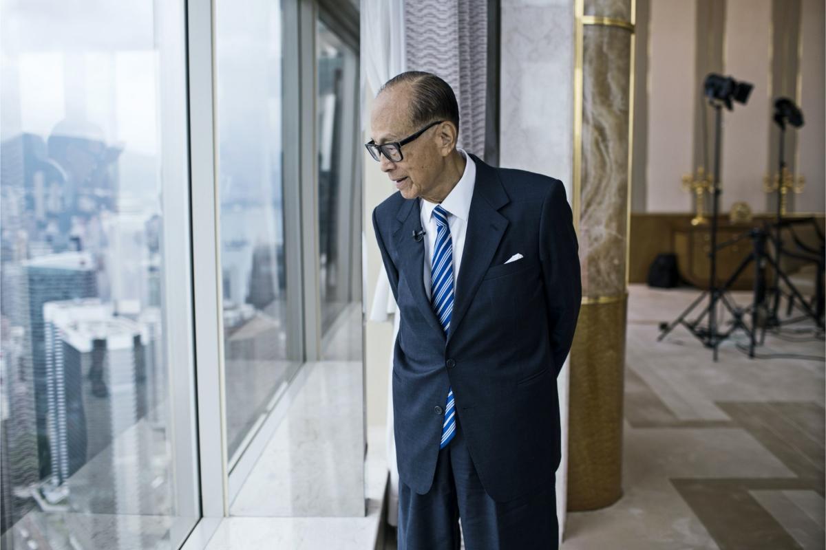 Tỷ phú Lý Gia Thành. Ảnh: Bloomberg.