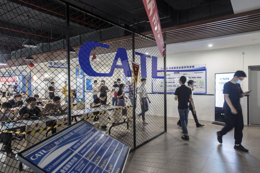 Canteen của CATL tại trụ sở ở Phúc Kiến. Ảnh: Bloomberg