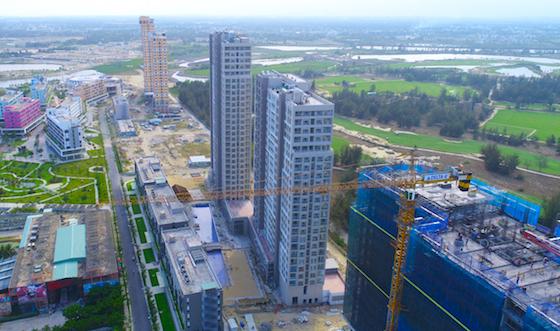 Một góc dự án Cocobay - cú sốc với phân khúc bất động sản nghỉ dưỡng cuối năm 2019. Ảnh: Công ty Thành Đô.
