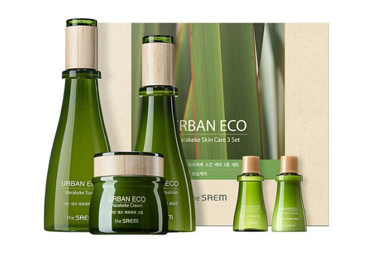 Dòng sản phẩm dưỡng da The Saem Urban Eco Harakeke.
