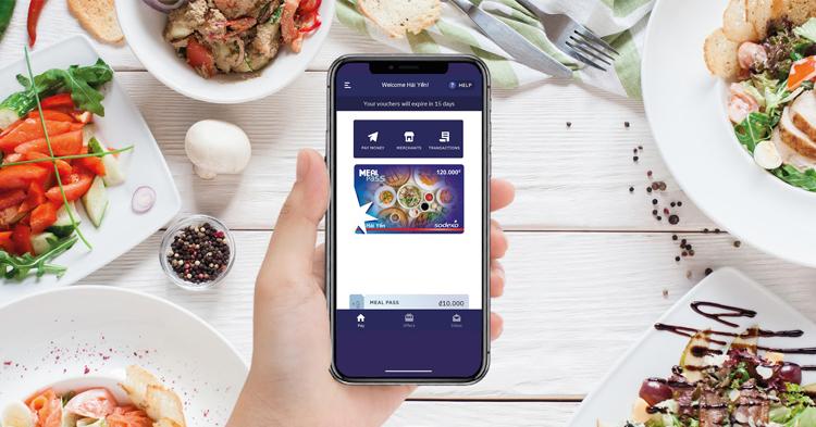 Phiếu ăn uống điện tử Sodexo Meal Pass là giải pháp phúc lợi ăn uống hiện đại dành cho doanh nghiệp.