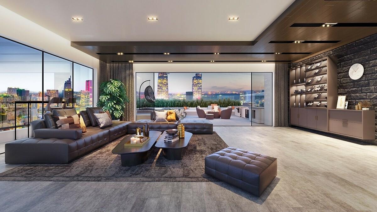 Căn hộ trung tâm chất lượng cao, thiết kế sang trọng, đảm bảo bằng uy tín của chủ đầu tư, đối tác tham gia phát triển, thương hiệu nội thất, vật liệu... nhiều khả năng hút khách thuê.