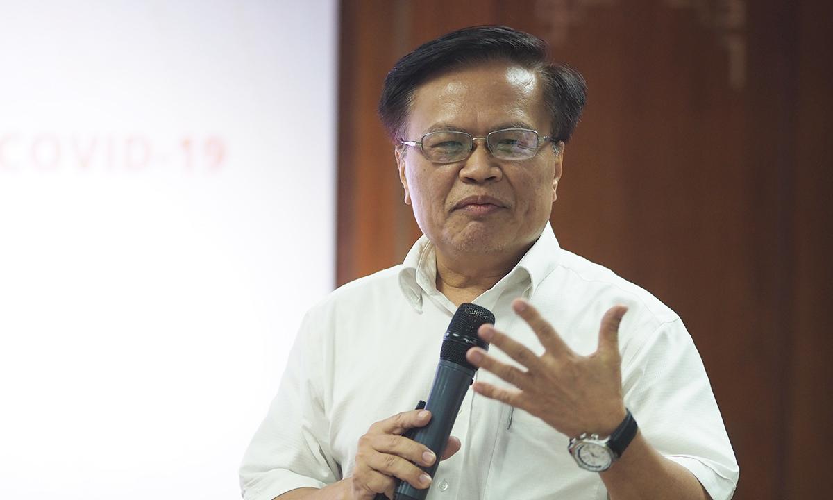 Viện trưởng CIEM Nguyễn Đình Cung. Ảnh: Anh Tú