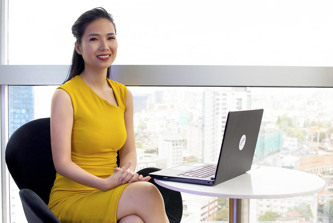 Bà Giang Diễm Quỳnh, Giám đốc AIMS TP HCM chia sẻ về visa E2.