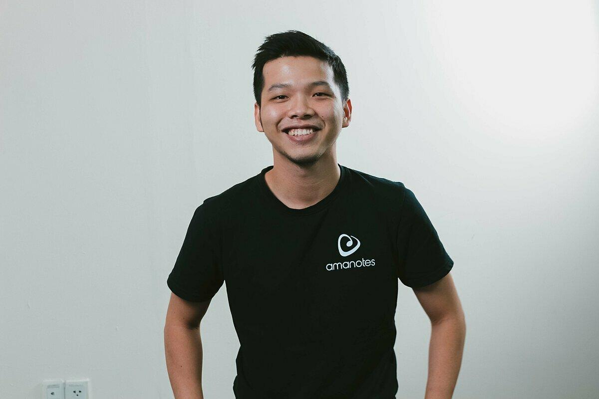 Ông Cường Nguyễn - Đồng sáng lập và Giám đốc Sản phẩm Amanotes.