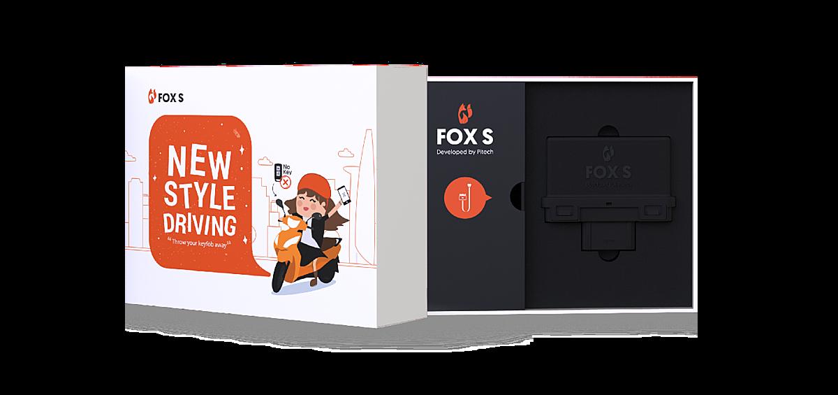 FoxS là một trong những sản phẩm công nghệ thuần Việt giúp xe máy có thể khởi động bằng smartphone, mà không cần bất cứ chiếc chìa khoá nào.