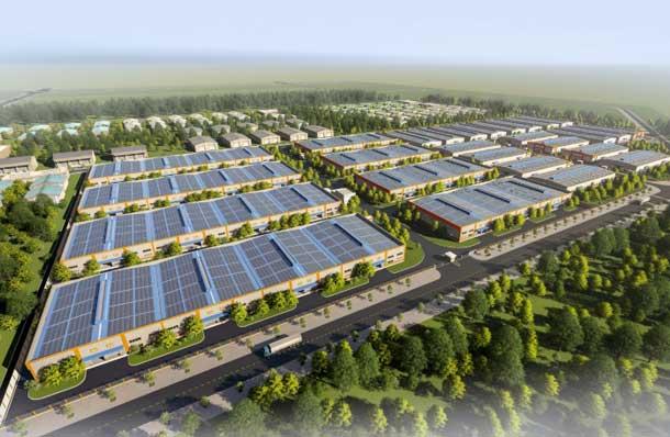 Khu nhà xưởng của Thế Hệ Mới dự kiến đáp ứng nhu cầu cho 30 đơn vị sản xuất.