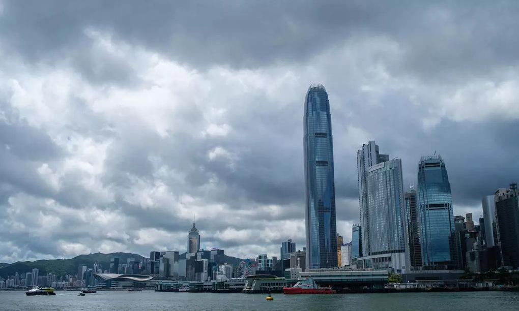 Khu trung tâm Hong Kong. Ảnh:AFP.