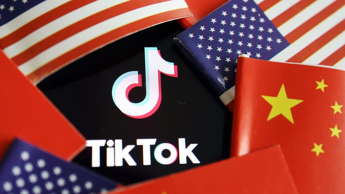 TikTok, với công ty mẹ là ByteDance của Trung Quốc đang bị Mỹ dòm ngó. Ảnh: Reuters